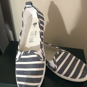 H&M Marine Canvas shoes